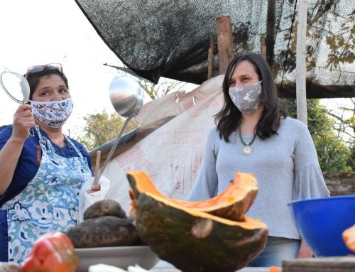 «Ayudanos a ayudar» en Bajada Distéfano