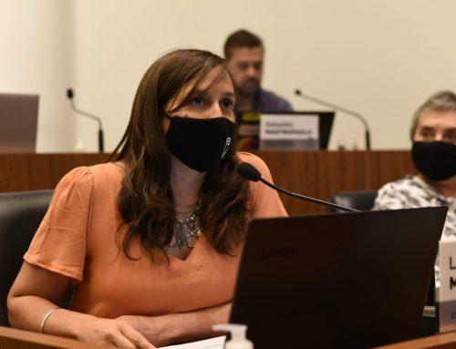 Mondino: «El presupuesto refleja la idea de trabajar por una ciudad integrada»