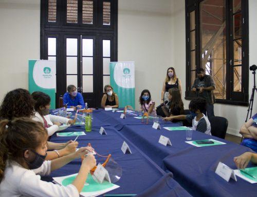 El Consejo de las Infancias compartió sus propuestas con el intendente Jatón