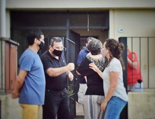 Visita a la radio comunitaria Los Alisos