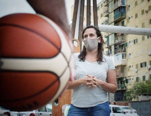 El Pozo: básquet, voley y muchas ganas de cumplir sueños
