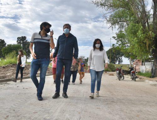 Obras que mejorarán la calidad de vida en barrio Centenario