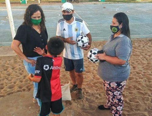 Alto Verde: fútbol y juego para toda la familia