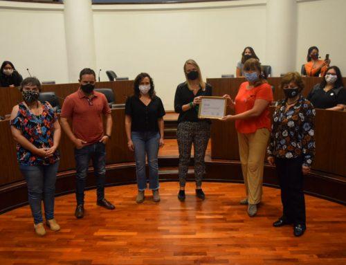 El Concejo distinguió a la Red de Profesionales de Áreas de Género