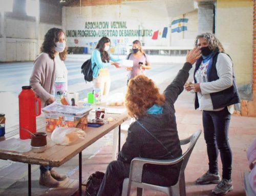 Visitamos la vecinal Unión, Progreso y Libertad de Barranquitas