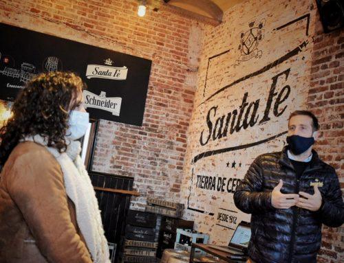 Santa Fe y cerveza, un solo corazón