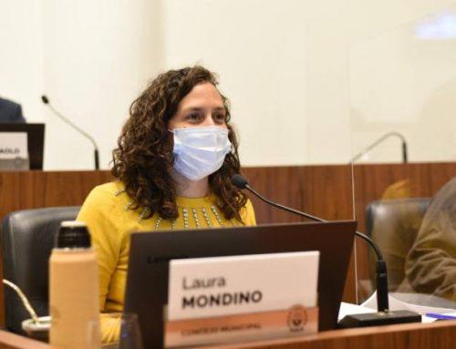 """Mondino: """"Comenzamos a trabajar en distintos barrios donde el municipio nunca había llegado"""""""